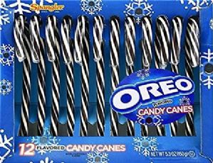 Oreo Candy Canes 12pk Chocolate & Vanilla Flavour